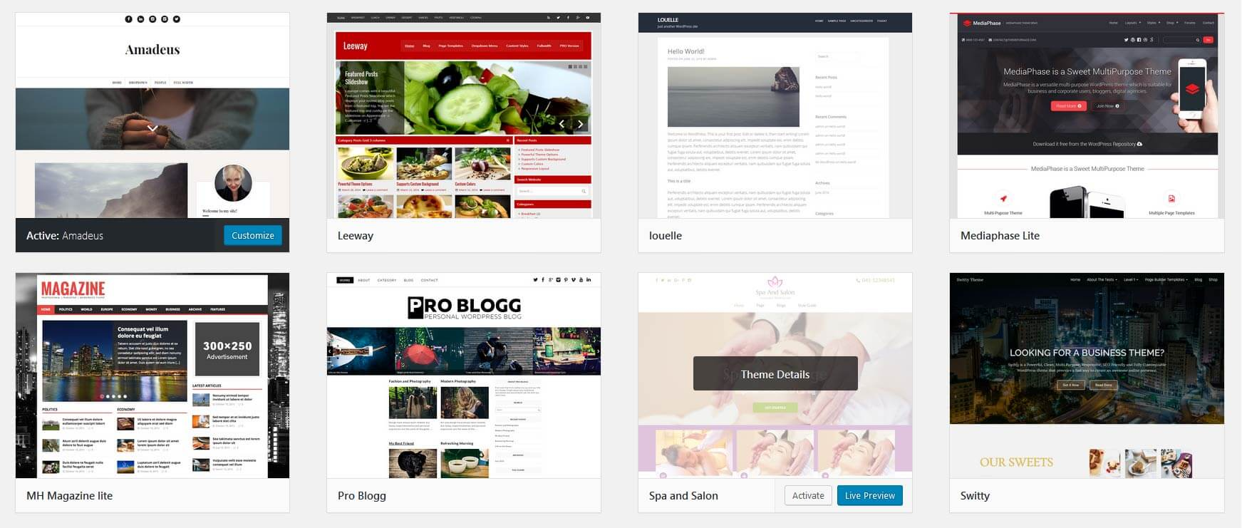 8 Free Wordpress Templates For Small Businesses Launch 2 Success