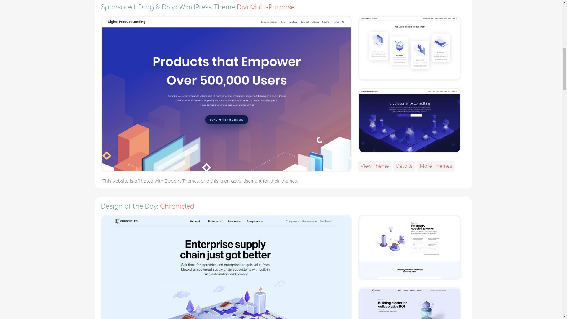 Web Design Inspiration That S Not Weird Launch 2 Success